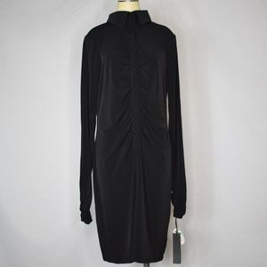 Karl Lagerfeld | Impulse Black Long Sleeve Dress L